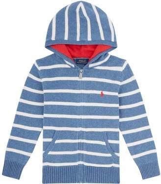 Polo Ralph Lauren Striped Zip Hoodie