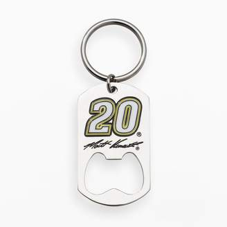 "Insignia Collection NASCAR Matt Kenseth Stainless Steel ""20"" Bottle Opener Key Chain"