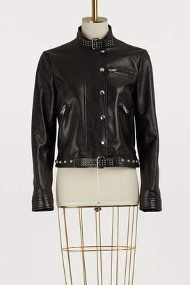 RED Valentino Studded leather perfecto