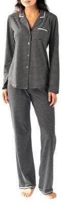 Naked Stripe Notch Pajamas