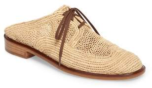 Robert Clergerie Jaly Woven Loafer Mule
