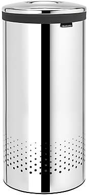 Brabantia Laundry Bin, Brilliant Steel, 30L