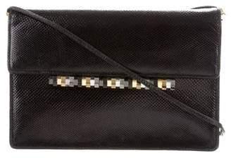 Judith Leiber Textured Leather Shoulder Bag