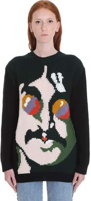 Stella McCartney John Lennon Knitwear In Green Wool