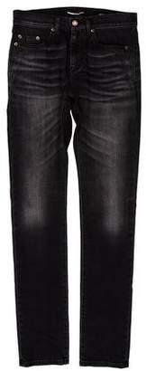 Saint Laurent Five Pocket Skinny Jeans