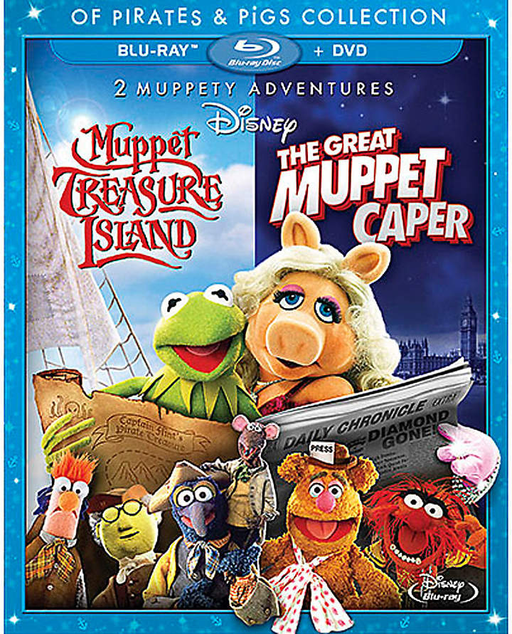 Disney Muppet Treasure Island & The Great Muppet Caper 2-Movie Collection