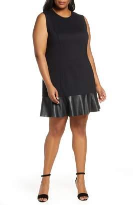 Plus Size Faux Leather Dresses - ShopStyle