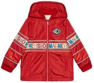 Gucci Children's Magnetismo nylon jacket