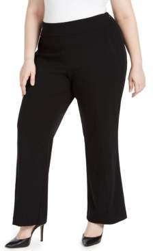 INC International Concepts Inc Plus Size High-Waist Trousers, Created for Macy's