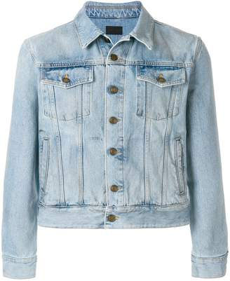 Saint Laurent fitted denim jacket