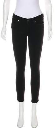 Paige Verdugo Low-Rise Skinny Pants