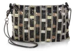 Whiting & Davis Mackie Crossbody Bag