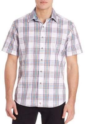 Robert Graham Barstow Egyptian Cotton Shirt