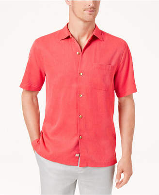 Tommy Bahama Men's Coastal San Clemente Silk Shirt, Created for Macy's