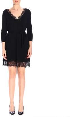 Twin-Set TWIN SET Dress Short Dress With Lace Hem