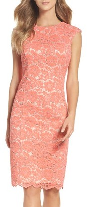 Women's Vince Camuto Lace Body-Con Dress $168 thestylecure.com