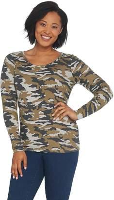 G.I.L.I. Got It Love It G.I.L.I. Long Sleeve Scoop Neck T-shirt