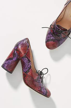 Lenora Mariel Snake Heels