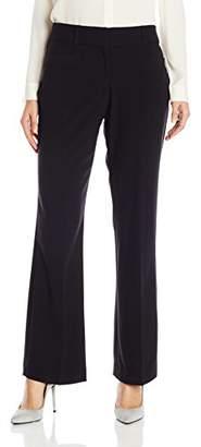 Briggs York Women's Career Bistretch L Pocket Straight Leg Pant