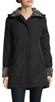 Weatherproof Faux Fur Lined Walker Coat