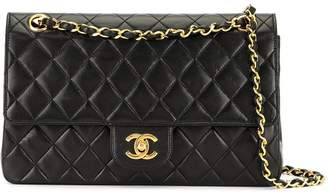 Chanel Pre-Owned diamond quilted double flap shoulder bag