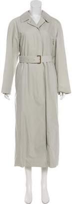 Burberry Liz Nova Check-Lined Trench Coat