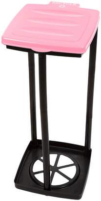 STALWART Wakeman Pink Portable Recycle Trash Bag Holder