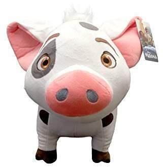 Disney Moana Plush Stuffed Pua Pig Pillow Buddy - Kids Super Soft Polyester Microfiber