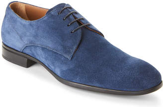 Doucal's Suede Lace-Up Derby Shoes