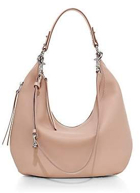 Rebecca Minkoff Women's Michelle Pebbled Leather Hobo Bag