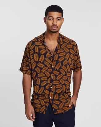 Barney Cools Holiday Short Sleeve Shirt