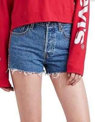 Levi's 501 Spectator High-Rise Cotton Shorts