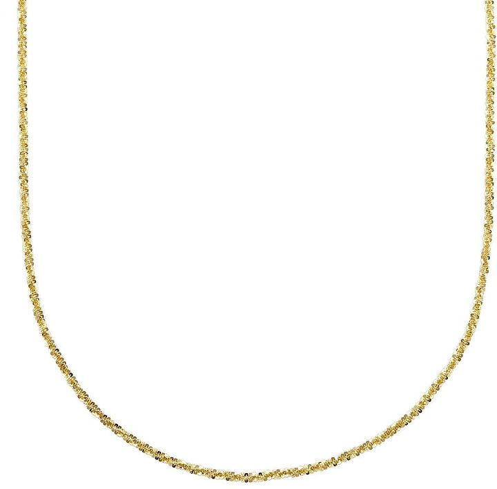 Margherita 18k Gold-Over-Silver Chain Necklace