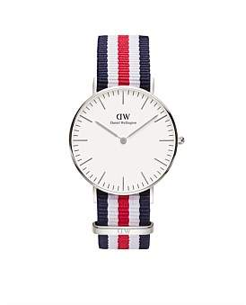 Daniel Wellington Classic Canterbury 36Mm Silver