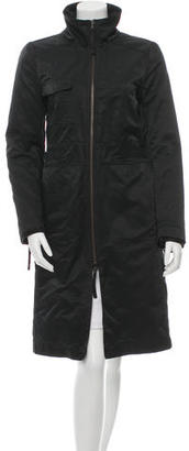 Theory Fur-Lined Long Coat $295 thestylecure.com