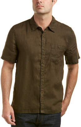 Blank NYC Friends With Penalties Linen Woven Shirt