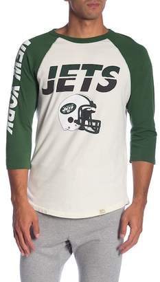 Junk Food Clothing All American Jets Raglan Sleeve Tee