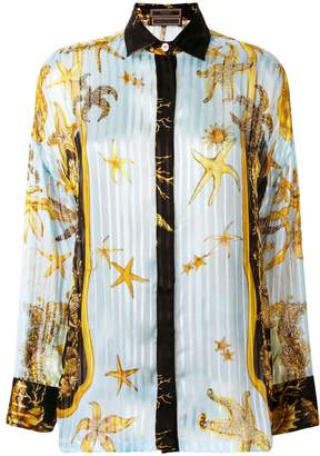 Versace signature printed shirt