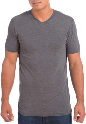 Point Zero Men's Dri-Fit V-Neck Short Sleeve Performance T-shirt