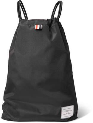 Thom Browne Nylon Drawstring Backpack