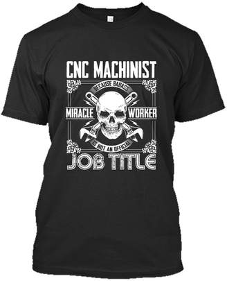 CNC Costume National TeeZaa Machinist Tee Shirt - Awesome For Machinist T-Shirt For You And Family Unisex (XXL,Black)
