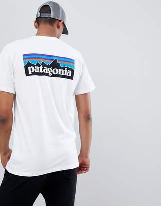 Patagonia P-6 Logo Responsibili-Tee T-Shirt in White