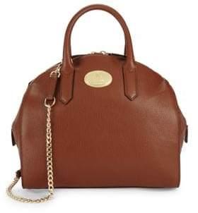 Roberto Cavalli Grainy Leather Tote Bag
