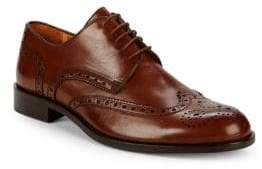 Brogued Wingtip Derby Shoes