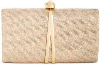INC International Concepts I.N.C. Dinaa Knot Sparkle Clutch, Created for Macy's
