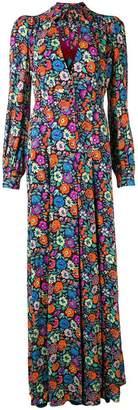 Etro floral print long dress