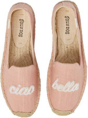Soludos Ciao Bella Espadrille Flat