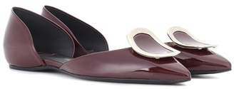 Roger Vivier Dorsay Sexy Choc patent leather ballerinas