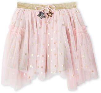 Baby Sara Girls 4-6x) Foil Polka Dot Tutu Skirt