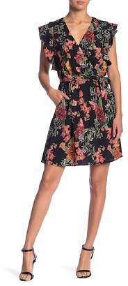 Dex Floral Cap Sleeve Dress